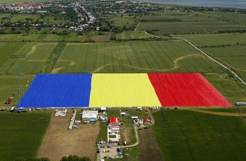 România are cel mai mare drapel din lume! Antena 3, în GUINNESS WORLD RECORDS™