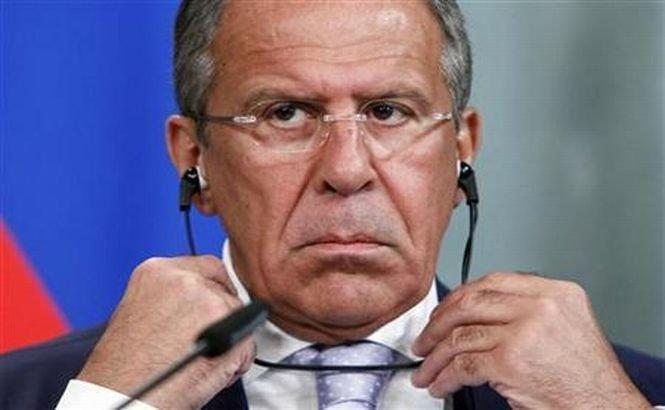 Serghei Lavrov critică anularea embargoului militar impus Siriei