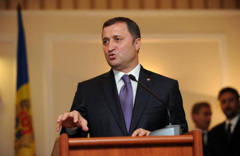 Vlad Filat anunţă semnarea acordului Coaliţiei Pro-Europene, la Chişinău