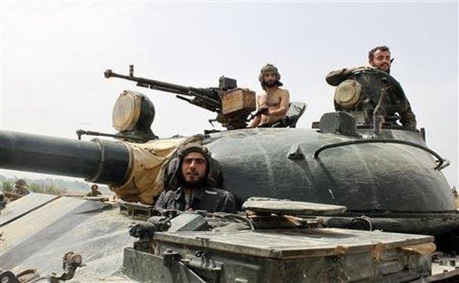 """Armata siriană: """"Qusair este un mesaj clar pentru rebeli"""""""