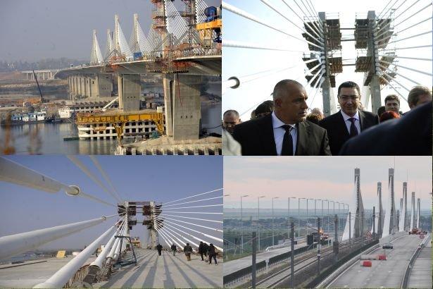 Podul Calafat-Vidin, o INSULĂ de normalitate, care leagă două ţări fără drumuri