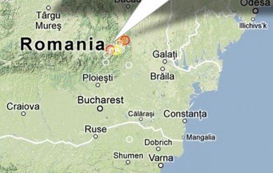 Vrancea s-a cutremurat din nou. Un nou seism a avut loc astăzi în România