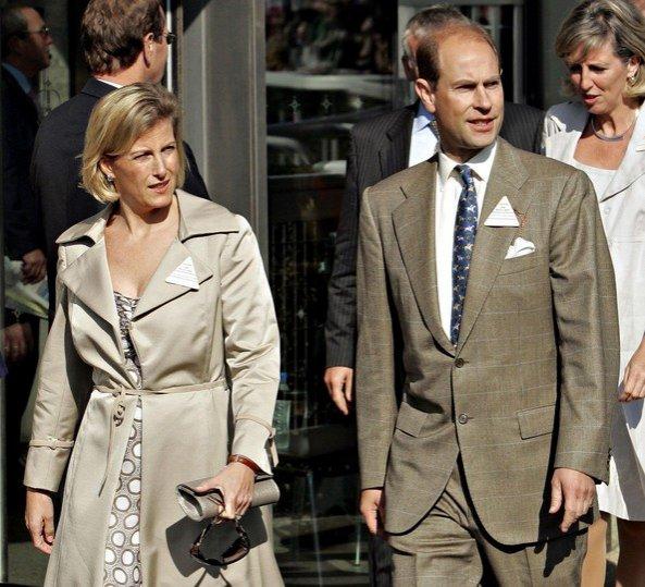 Prinţul Edward şi ducesa de Wessex, în vizită în România