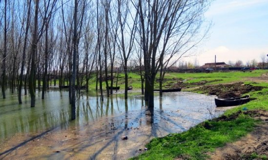 Cod galben de inundaţii pe râuri din jumătatea de est a ţării, până vineri seară