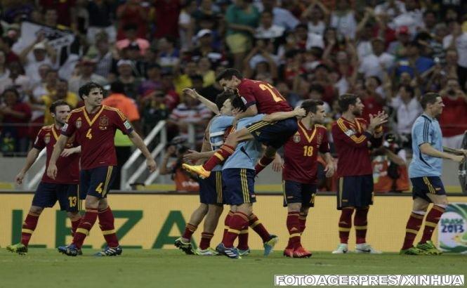 Spania a învins Italia la penaltyuri şi s-a calificat în finala Cupei Confederaţiilor