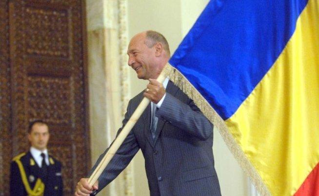 Gafă prezidenţială: Traian Băsescu a greşit data la care se marchează Ziua Imnului Naţional