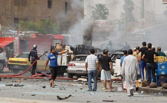 Cel puţin 31 de morţi într-o serie de atentate comise la Bagdad