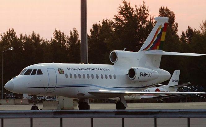 Avionul preşedintelui bolivian are VERDE pentru La Paz. Spania a oferit dreptul de survol