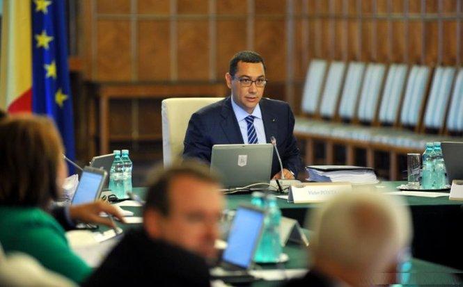 La prima şedinţă de Guvern după vacanţă, 15 miniştri lipsesc