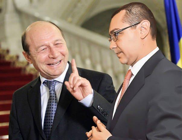 """""""Nu-mi răspunzi la SMS, eu te sun atât de deeeees!"""" Băsescu s-a supărat că Ponta nu-i răspunde la telefon"""