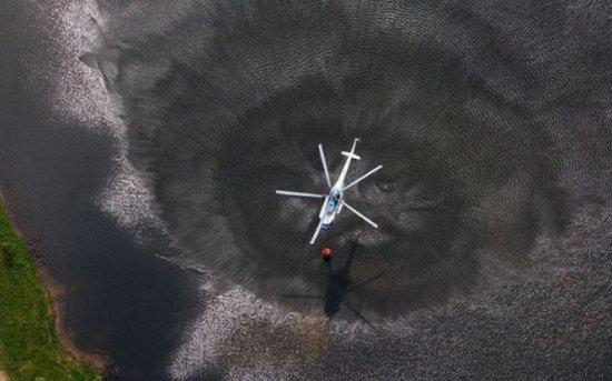 Un elicopter s-a prăbuşit în Marea Nordului. Patru persoane au murit şi 14 au fost salvate