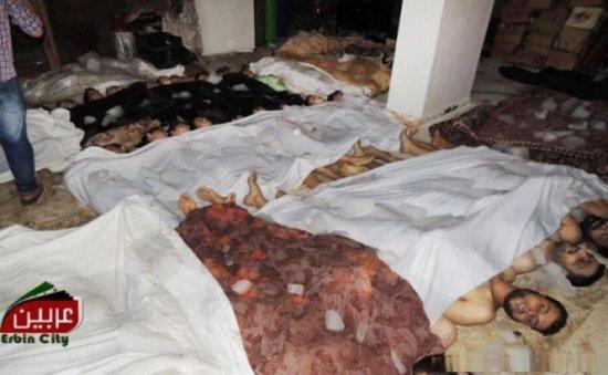 Scene de coşmar după atacul din Siria. Spitalele nu au putut face faţă valului de victime