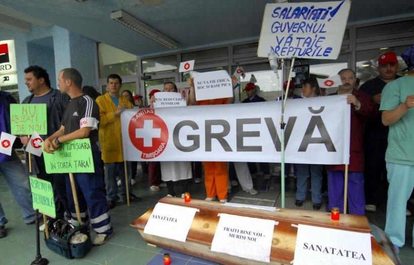 Proteste în Sănătate, începând cu 18 septembrie. Medicii ameninţă cu GREVĂ GENERALĂ în noiembrie