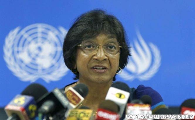 """Comisar ONU pentru Drepturile Omului: Un răspuns militar în Siria """"riscă să aprindă o conflagraţie regională"""""""