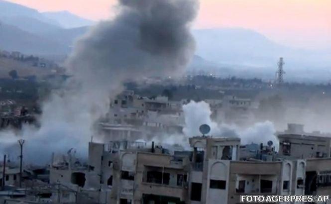 Opoziţia siriană a denunţat un nou atac cu gaz toxic în apropiere de Damasc