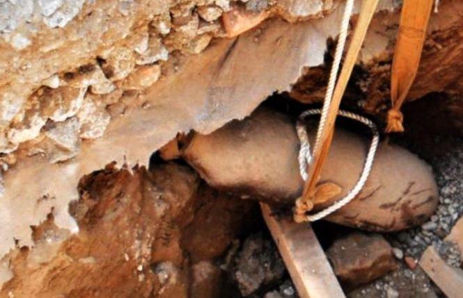 O bombă cu focosul activ, descoperită în apropiere de Arad