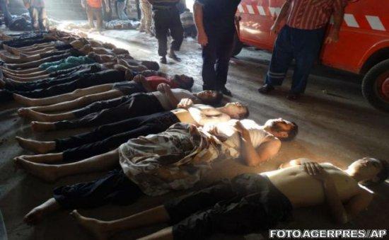 """Raport ONU: Există probe """"clare şi convingătoare"""" privind folosirea de arme chimice în Siria"""