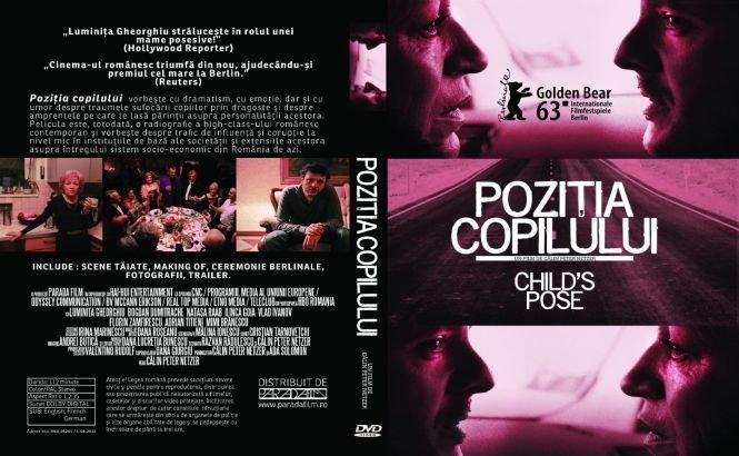 """Filmul """"Poziția copilului"""" se lansează pe DVD"""