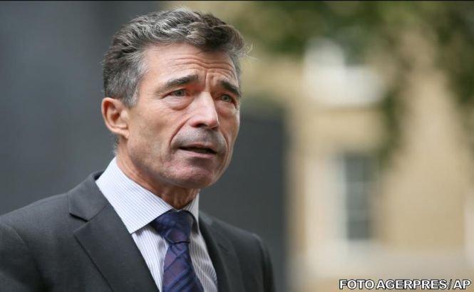 """Secretarul general al NATO: Opţiunea militară în cazul Siriei trebuie """"să rămână pe masă"""""""