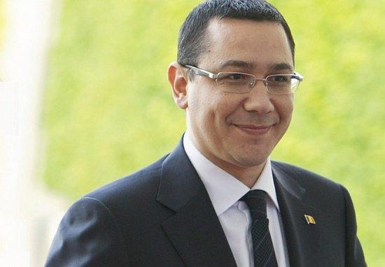 """Premierul turc i-a dăruit lui Ponta un tort şi a chemat o formaţie care i-a cântat """"La Mulţi Ani"""""""