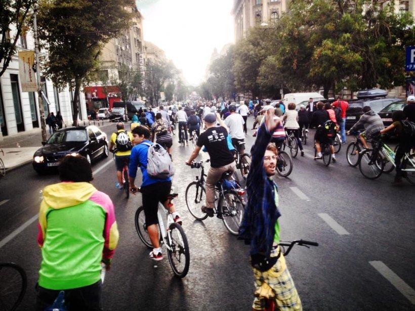 Protestul bicicliştilor din Bucureşti, în presa internaţională