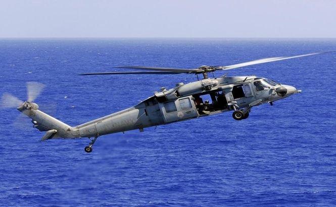 Un elicopter SUA s-a prăbuşit în Marea Roşie. 2 membri ai echipajului sunt daţi dispăruţi