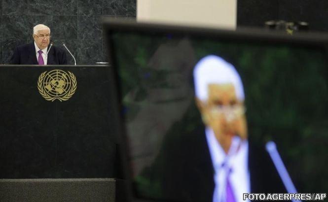 """Ministrul sirian de Externe: """"Teroriştii"""" care se opun lui Assad mănâncă inimi de om"""