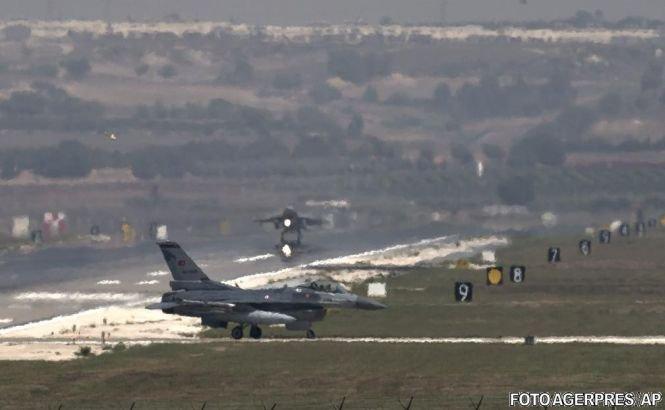 Un avion de luptă s-a prăbuşit în centrul Turciei