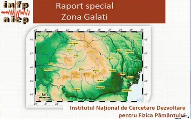 Documentul care dezvăluie cauza celor 87 de cutremure din Galaţi, prezentat la Sinteza zilei