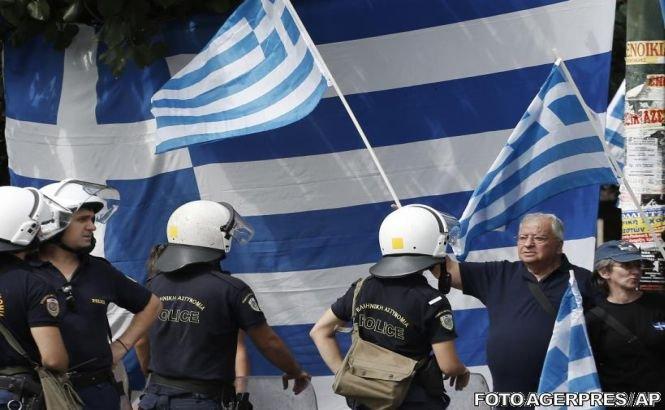 Cabinetul personal al unui ministru grec, incendiat de mai multe persoane necunoscute