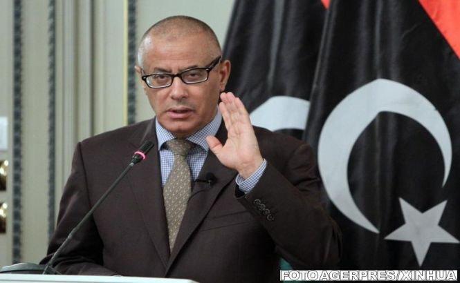 Premierul libian acuză un partid politic de răpirea sa