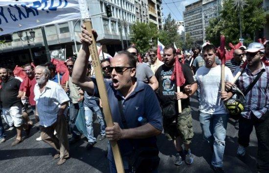 Grevă generală de 24 de ore, vineri, în Grecia. A doua manifestare de acest fel, în mai puţin de patru luni