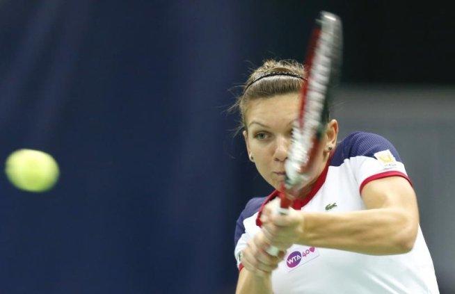 Simona Halep s-a calificat în FINALA turneului Premier de la Moscova