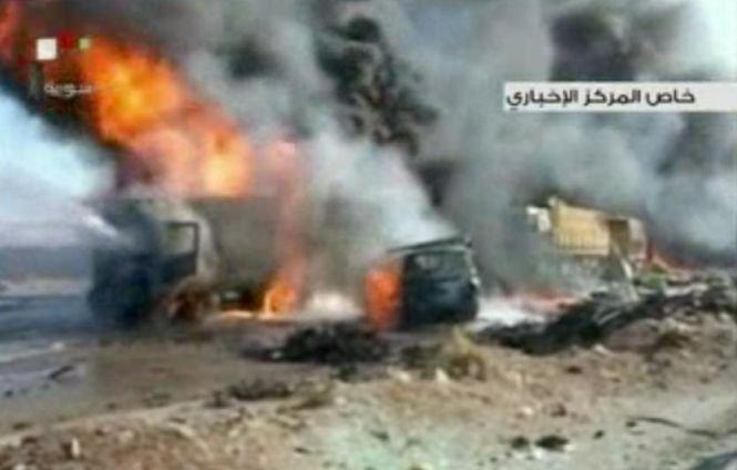 Patru rachete lansate de pe teritoriul Siriei au căzut în Liban