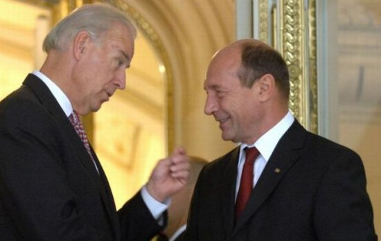 Traian Băsescu  discussed over the phone with  Joseph Biden. See the topic  the two officials approached