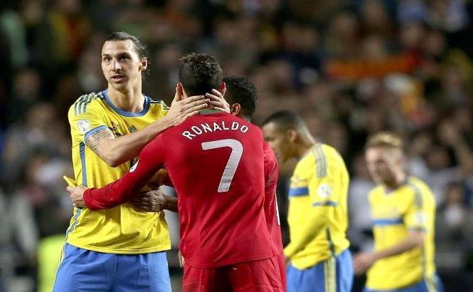 BARAJ CM 2014. Ronaldo a făcut spectacol în Suedia, Franţa întoarce senzaţional în faţa Ucrainei. Tabloul echipelor calificate la turneul final, aproape complet