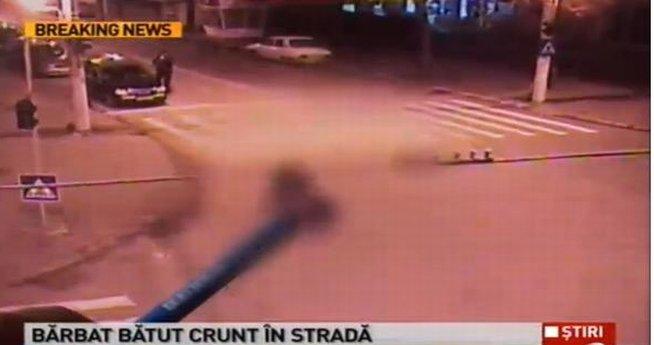Un tânăr a fost bătut CU BESTIALITATE în plină stradă, în Brăila