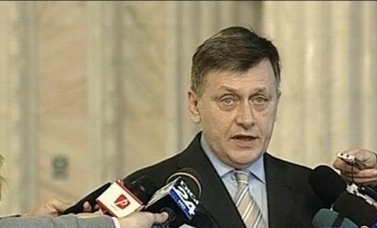 Crin Antonescu: Acesta este bugetul, aşa va rămâne
