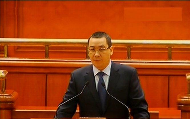 Ponta anunţă ce bani sunt pentru salarii şi pensii. Premierul: Guvernul nu renunţă la acciză. Blaga: Fac apel să respingem bugetul
