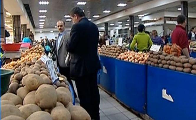 Alimentele au înregistrat scumpiri de peste 10% în 2013