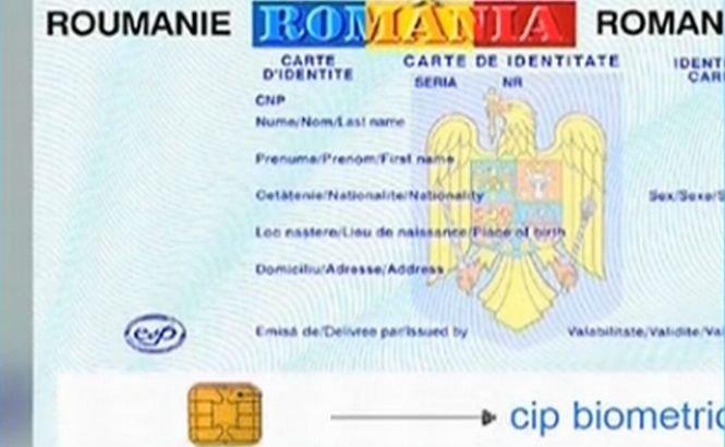 Românii îşi vor putea face buletine biometrice începând cu 1 aprilie 2014