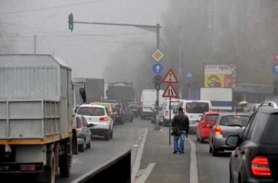 ANM: Cod Galben de ceaţă în judeţe din Transilvania şi Moldova