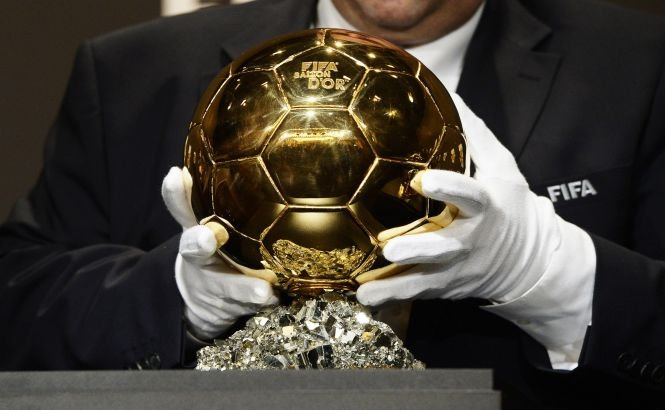 Cristiano Ronaldo a câştigat Balonul de Aur 2013