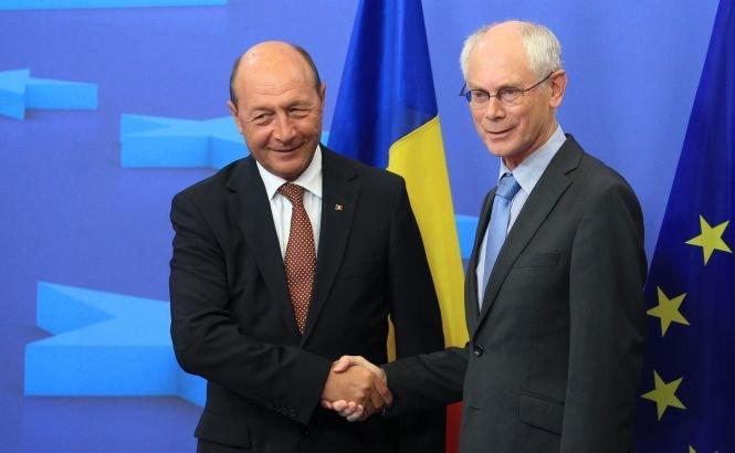 Băsescu se va întâlni joi cu preşedintele CE, urmând să discute despre priorităţile României în UE, Schengen şi asocierea R. Moldova
