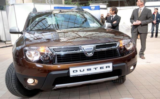 Duster s-a clasat pe locul patru pe piaţa din Rusia în 2013, cu 83.700 vehicule vândute
