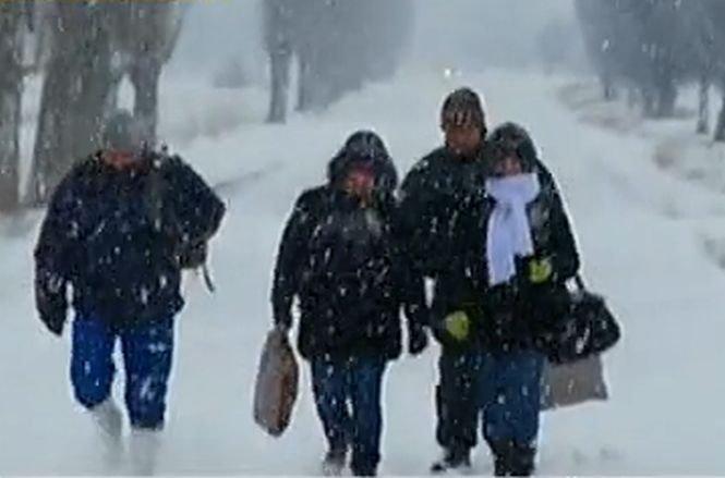 Iarnă grea şi la vecini. În Bulgaria sunt aşteptate astăzi temperaturi până la -15 grade