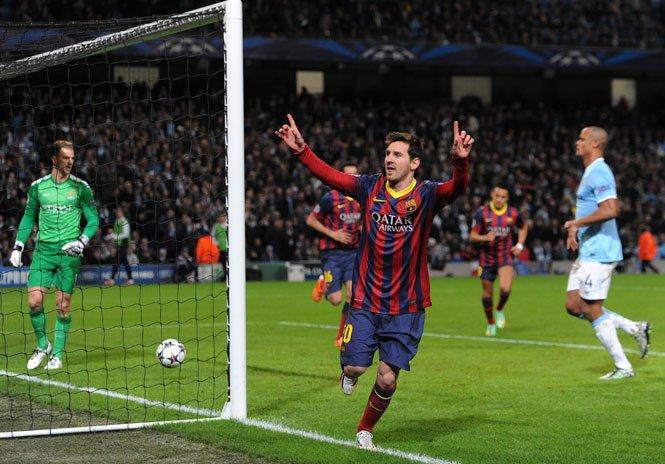Victorii ale oaspeţilor în Liga Campionilor. Barcelona şi PSG, favorite la calificarea în sferturile de finală