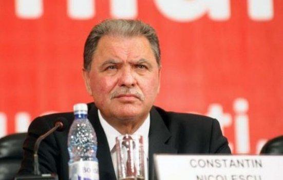 Constantin Nicolescu a fost revocat din funcţia de preşedinte al Consiliului Judeţean Argeş
