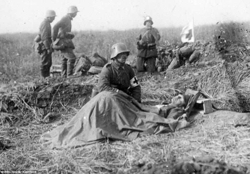 Istorie în fotografii. Imagini în premieră cu Primul Război Mondial