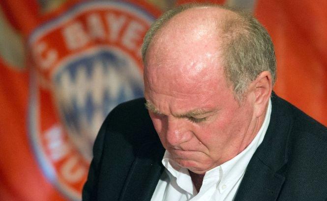 Preşedintele lui Bayern Munchen, condamnat la trei ani şi jumătate de închisoare cu executare pentru evaziune fiscală